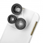 4-in-1 Lens Set for IPHONE 5 / 5S - White