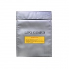 30 x 23cm Exposion-Proof Safety Guard Storage Bag for RC Li-Po Battery - Silvery Grey