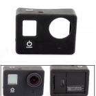 PANNOVO Protective Silicone Case for GoPro Hero 4 / 3+ / 3 - Black