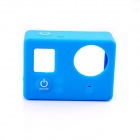 PANNOVO G-795 Protective Silicone Shell Case for GoPro Hero 4 / 3+ / 3 - Blue