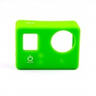 PANNOVO G-795 Protective Silicone Shell Case for GoPro Hero 4 / 3+ / 3 - Green