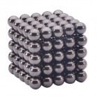 5mm Magnetic Balls Beads Sphere Cube Puzzle Neocube Intelligence Toy - Black (125 PCS)