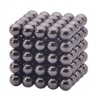 5mm Magnetic Beads Sphere Neocube Intelligence Toy - Black (125PCS)