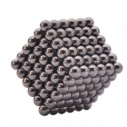 5mm Magnetic Beads Sphere Neocube Intelligence Toy - Black (216 PCS)