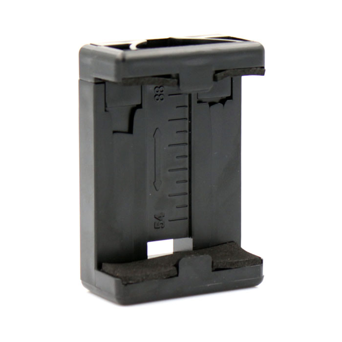 PANNONO G-793 ABS Bracket Clip Holder - Black + Orange
