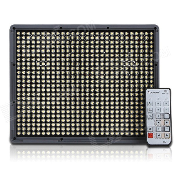 Aputure Amaran HR672W Video Light 5500K 4636.8lm 672-LED - Black (AU)