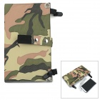 Universal Portable 2-Folding 10W 5V USB 2.0 Solar Panel Charger - Camouflage