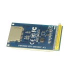 "DIY 2.4"" TFT 320 x 240 Colorful LCD Touch Screen Module w/ SD Card Slot - Blue"