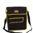 BESTIR BST-05153 7-Pocket Repair Tool Storage Bag - Black + Yellow