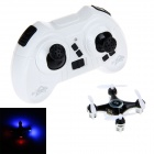 2.4GHz 4-Channel 6-Axis Mini Helicopter w/ Gyro / LED Light - White + Black