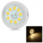 HH211 G4 3W 240lm 3500K 9-SMD 3528 LED Warm White Light Emitter Board - White + Yellow (DC 12V)
