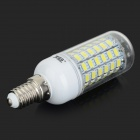 700lm 360' Beam Angle 69-SMD 5730 LED Corn Lamp Light - White + Transparent