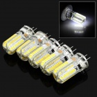 JRLED G4 4W LED Bluish White Light Corn Bulb (AC 220V / 5PCS)