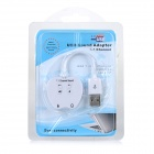 7.1-Channel USB 2.0 Sound Card Adapter w/ 3.5mm Audio Output - White