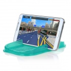 PVC Car Anti-Slip Non-Slip Phone Holder Mat Pad for Cellphone - Green