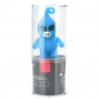 Cartoon Alien Style USB 2.0 Flash Drive - Blue + Black (16GB)