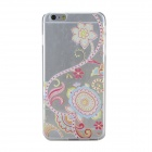 Ultrathin Protective TPU Back Case for IPHONE 6 PLUS - Transparent + Multi-Color