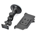 ABS Car Mount Holder w/ Suction Cup for Sony Xperia Z3/L55T - Black