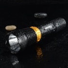RAYSOON RS-818 110lm 5-Mode White Light Diving Flashlight - Black (1 x 18650 / 3 x AAA)