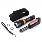 RAYSOON RS-818 110lm 5-Mode White Light Diving Flashlight - Black