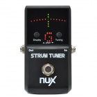 NUX Strum Tuner for Electric Guitar / Bass - Black (1 x 6LR61)