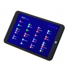 Vido W8C quad-core windows tablette avec 2 Go de RAM, ROM de 32 Go - blanc + noir