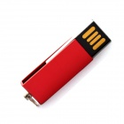 Mini Rotary USB 2.0 Flash Drive Disk - Red (8GB)