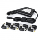 Universal 90W 10A Automatic Current Switching DC 11~15V Power Charger + 8 x Adapters Set - Black
