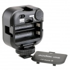 GODOX portable 260lm 6500K 36-LED luz de video - negro (2 * aa)