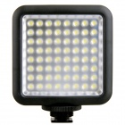 GODOX Portable 1000lm 6500K 64-LED Video Light - Black (4 x AA)
