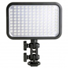 Godox 2200lm 6500K126-LED Video Light w/ Removable Filters - Black (6 x AA / 1 x NP-F970)