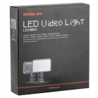 godox 2200lm 6500K 126-LED video valo - musta (6 * AA / 1 * NP-F970)