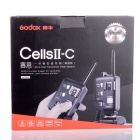 GODOX Cells II-C Wireless Strobe Trigger for Canon - Black (2PCS)