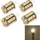 Buy YouOkLight G4 6W 580lm 27-SMD 5050 Warm White Light Bulb Lamp (4PCS)