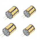 YouOkLight G4 6W 580lm 27-SMD 5050 Warm White Light Bulb Lamp (4PCS)