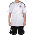Germany National Football/Soccer Team Sports Suit - XL (Black + White)