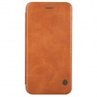 NILLKIN QIN Series Protective PU Leather Flip Open Case w/ Stand for IPHONE 6 - Brown