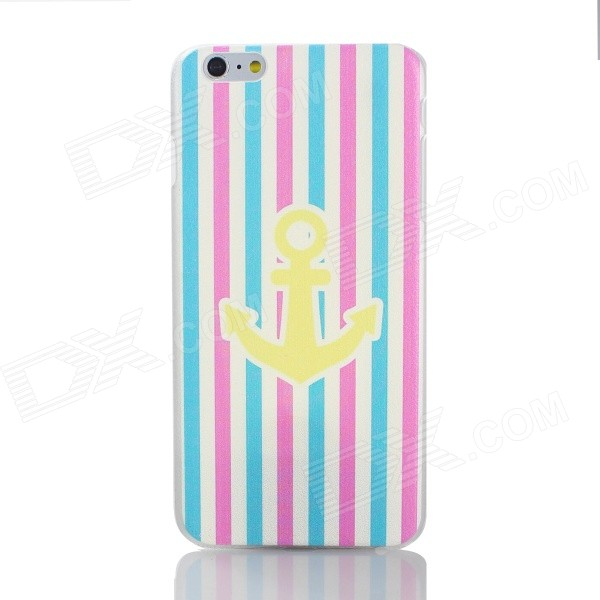 Cartoon Anchor Pattern PC Back Case for IPHONE 6 PLUS - Multi-Color