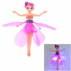 ABS Rechargeable Fairy Shaped Flying Toy - Purplish Red