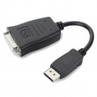 Active Chip DisplayPort to DVI 24+4 Adapter Cable - Black