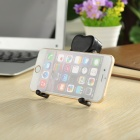 universell ABS desktop holder stand til mobiltelefoner / tabletpcs - svart