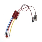 High-Voltage 320A Brushed Electronic Speed Controller ESC for R/C Model Cars - Red + Multicolored