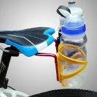 Bike Bicycle Saddle Tail Mounted Dual Water Bottle Holder - Red