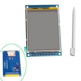 """3.2"""" TFT LCD Touch Shield Display Module w/ Touch Pen - Blue"""