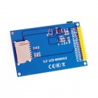 "3.2 ""TFT LCD touch protetor Display Module w / Touch Pen - Azul"