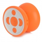 Yo-yo Style Music MP3 Player w/ TF / 3.5mm / Mini USB - Orange + White