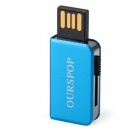 Buy Ourspop OP-34 Little Book Style USB 2.0 Flash Drive - Blue (4GB)