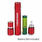 TANGSPOWER TP-7119R 1W 30lm LED White Mini Flashlight - Red (1*AAA)