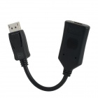 DisplayPort Male to HDMI Female Adapter Cable - Black