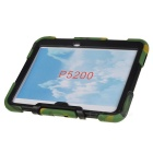 "Silicone Case w/ Stand for Galaxy Tab 3 10.1"" P5200 - Camouflage"